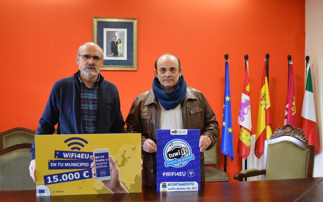 Santa Marina del Rey, el primer Ayuntamiento en instalar el WiFi4EU en 2020